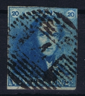 Belgium: 1849 OBP Nr 2 Used / Obl - 1849 Epaulettes