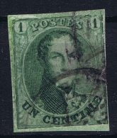 Belgium: 1861  OBP Nr 9 Used / Obl - 1858-1862 Medallions (9/12)