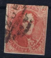 Belgium: 1861  OBP Nr 12  Used / Obl