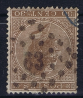 Belgium: 1865  OBP Nr19  Used   Obl