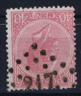 Belgium: 1865  OBP Nr 20  Used   Obl
