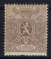 Belgium: 1866  OBP Nr 25 MH/* - 1866-1867 Piccolo Leone