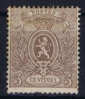 Belgium: 1866  OBP Nr 25 MH/* - 1866-1867 Coat Of Arms