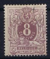 Belgium: 1869  OBP Nr 29 Used Obl  Yvert 29 A Violet - 1869-1888 Lying Lion