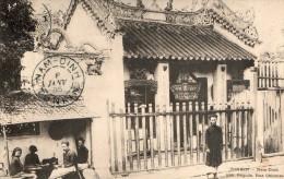TONKIN - NAM-DINH - LA PAGODE - UNE RUE CHINOISE - BELLE CARTE - PRESURSEUR - ANIMEE - 2 SCANNS -  TOP !!! - Vietnam
