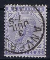 Belgium:   OBP Nr 41 Used Obl - 1883 Leopold II