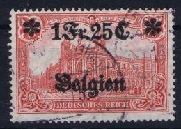 Belgium:  OBP Nr 8 Occupation Belgium 1914