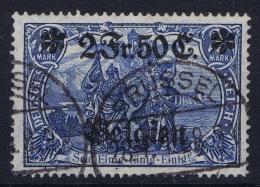 Belgium:  OBP Nr 9 Occupation Belgium 1914