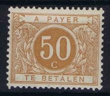 Belgium:  OBP Nr 8 MH/*