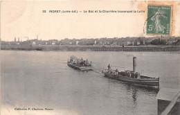 ¤¤  -  22  -  INDRET  -  BASSE-INDRE   -  Le Bac Et La Charrière Traversant La Loire    -  ¤¤ - Basse-Indre