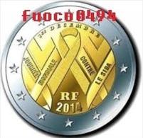 2 Euro France 2014  ( Journée Mondiale Sida ) - France