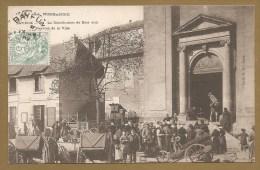 BELLE C.P.A Précurseur 1904 - BAYEUX - La Distribution De Bois Aux Pauvres De La Ville - MENDIANT - PAUVRE - BOIS - Bayeux