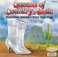 CD - QUEENS OF COUNTRY MUSIC - Country Et Folk