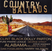 CD - COUNTRY - Country Ballads - Country & Folk