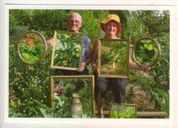 """Photo Sylvie  Roche  pour """"les Jardins d'Etonnants""""  je suis cultiv�(e), je fais du potager.  TBE"""