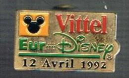 VIttel Ouverture Parc Euro Disney  12 Avril 1992 - Disney