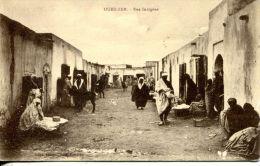N°41417 -cpa Oued Zem -rue Indigène- - Maroc