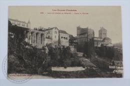 Old Postcard France, Les Basses Pyrénées - Sauveterre De Bearn, Tour Et Eglise - Unposted - Sauveterre De Bearn