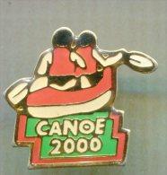 Pin´s - CANOE 2000 - Canoë