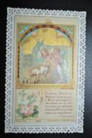 Image Pieuse Bouasse Jeune - Canivet Dentelle - Ô Heureuse Crèche ! Dorures - Images Religieuses