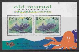 South Africa 1997 Two Oceans Aquarium M/s ** Mnh (18405) - Blokken & Velletjes