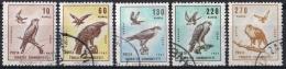 K647 FAUNA ROOFVOGELS BIRDS OF PREY OISEAUX GREIFVÖGEL AVES VALK FALCON ADELAAR EAGLE TURKEY 1967 Gebr / Used - Oiseaux