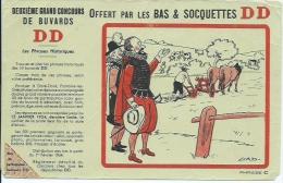 Buvard Offert Par Les Bas Et Socquettes DD - Buvards, Protège-cahiers Illustrés