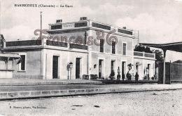 (16) Barbezieux - La Gare - Excellent  état - 2 SCANS - Autres Communes
