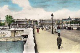 CPSM PARIS - LE PONT ET LA PLACE DE LA CONCORDE - Ponts