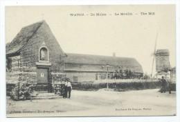 Carte Postale - WATOU - De molen - Le moulin - CPA  //