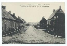 Carte Postale - WATOU - Bureau des douanes et rue de Winnezeele - Tol kantoor en Winnezel straat - CPA  //