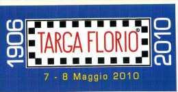 X Adesivo Stiker Etiqueta 94 TARGA FLORIO 2010 RALLY CM. 5 X 10 - Non Classificati