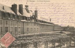 CPA - 18 - BOURGES - Le Grand Séminaire Sous La Neige - BERRY CHER - Bourges