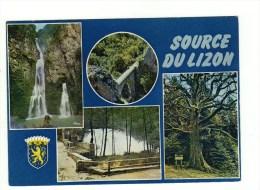 CPM Nans Sous Ste Anne, Source Du Lizon, Multivues - France