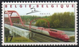 Belgium**THALYS HIGH SPEED TRAIN PARIS-BRUSSELS-1998-Zug-Trein-Treno-MNH - Belgium
