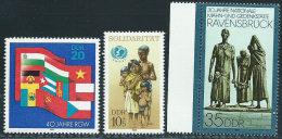 DDR 1989 Nuovo** - Mi.3221;3274/5  Yv.2827;2879/80 - [6] Repubblica Democratica
