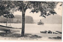 Lac D'Annecy Menthon Saint Bernard Bateaux TTBE  Neuve - Annecy