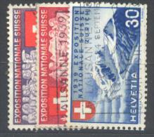 Suisse, N° YT.  320/22 Oblitérés. - Svizzera