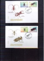 Makedonien / Macedonia 1998 Insekte / Insects FDC - Sonstige