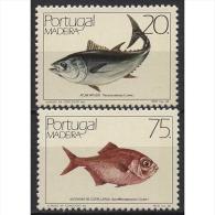 Portugal - Madeira 104/05 Postfrisch Fische - Madeira
