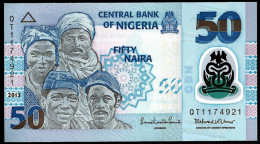 NIGERIA  :  50 Naira 2013  - POLYMER - UNC - Nigeria