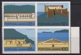 Portugal - Madeira 107/10 C Postfrisch Festungen Auf Madeira - Madeira