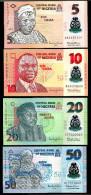 NIGERIA  : SET  5,10,20,50  Naira 2013  - POLYMER - UNC - Nigeria