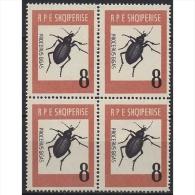 Albanien 737 ZD Postfrisch Insekten Riesen-Laubkäfer - Albanien