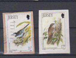 Grande Bretagne Jersey YV 557; 624 O 1992; 1993 - Vogels