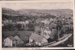 Cpa63 Chateauneuf Les Bains Vue Générale - Autres Communes