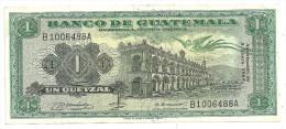 Guatemala 1 Quetzal 1969 XF- - Guatemala