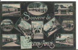 Souvenir De L'exposition Internationnale D' Amiens En 1906, Cpa, Voyagée 1906, Ed Hacquart Amiens - Amiens