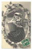 Cp, Femme, Voyagée 1912 - Women