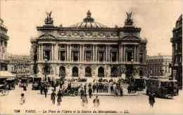 780 Paris - La Place De L'opéra Et La Station Du Métropolitain - Frankrijk